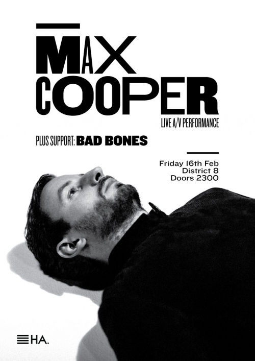 Max Cooper : 'One Hundred Billion Sparks' Live