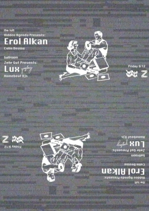Erol Alkan + Lux at Wah Wah Club