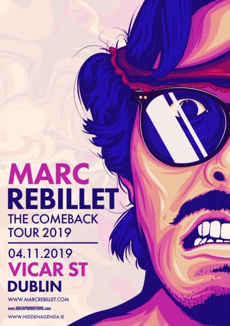 Marc Rebillet at Vicar Street